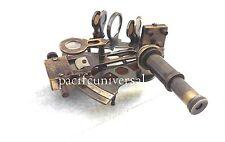 "Antique Brass Nautical Kelvin Marine Sextant 4"" Nautical Sextant Gift Item."