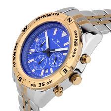 Tavan Between Wind & Water Men's quartz chronograph, 24 hour time, steel bracele