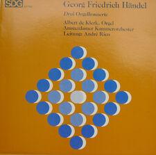 "GEORG FRIEDRICH HÄNDEL DREI ORGELKONZERTE ALBERT DE KLERK ANDRE RIEU 12"" LP c661"