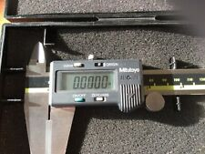 Absolutely Mint Condition Mitutoyo 12 Digital Calipers