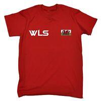 Wales Cymru FAW Official Football Gift Mens Poly Training Kit T-Shirt