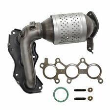 Exhaust Manifold with Integrated Catalytic Converter Front Left Cateran 33216