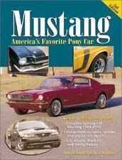 1964-2000 Mustang America's Favorite Pony Car Book Shelby Cobra by James Lenzke