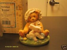 Cherished Teddies ` Melissa Every bunny needs a friend pull toy bunny 1994