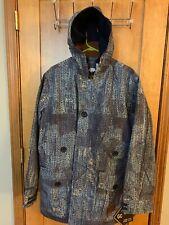 NWT Burton Gore-Tex Dune Jacket Outsuri Snowboard Blue Camo Mens - size Large