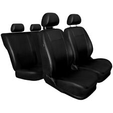 CM Universal Fundas de asientos compatible con TOYOTA AURIS 1 2 I II (polipiel)