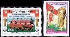 TUNISIA 1998 World Cup 2v set MNH @S4482