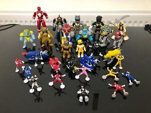 Power Ranger Micro Machines action style figures bulk job lot Vintage toys