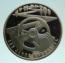 2011 GERMANY 125Yrs of CARS Automobile Genuine Silver German 10 Euro Coin i76010
