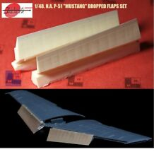 "1/48. N.A. P-51 dropped flaps resin set, by ""A.M.U.R. reaver"" RC4825"