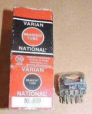 1 nixie NL809 National Electronic