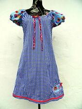 Mini-Damenkleider im Tuniken-Stil aus Baumwollmischung