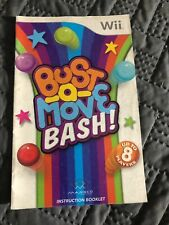 Bust-A-Move Bash (Nintendo Wii, 2007) Manual Only FREE SHIPPING!!!