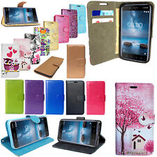 For NOKIA 3 5 2 1 4.2 Genuine PU Leather Flip Wallet Phone Stand Case Cover