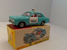 Dinky Toys 270 Ford Panda Police Car 1969-1977 mint,  with Box