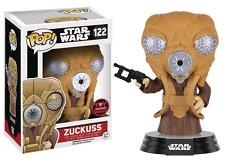 Pop! Star Wars Zuckuss #122 Vinyl Figure Exclusive by Funko