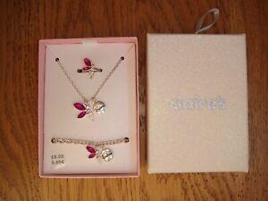 BNIB Sisters Fairy Jewellery Set * Necklace* Bracelet* Ring*