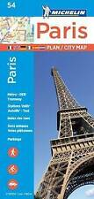 Michelin Paris Street Map + Index Map 54, Michelin | Map Book | 9782067211568 |