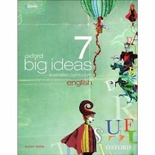 Brand New Oxford Big Ideas English 7 By Susan Leslie Textbook