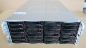 Supermicro CSE-847 847JBOD-14 45 Bay Direct Attached Storage JBOD Rack Array