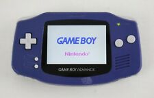 Nintendo Game Boy Advance Handheld with Backlight Screen MOD - Indigo