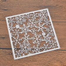 Snow DIY Scrapbook Cutting Dies Stencil Christmas Card Album Love Craft Mould