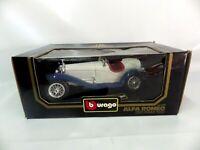 Voiture Burago 1/18 Scale Diecast 3008 Alfa Romeo 2300 Spider 1932
