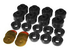99-14 Chevy Silverado GMC 1500 Body Cab Mount Bushings Black Prothane 7-141-BL