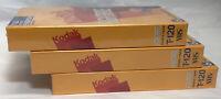 Kodak T-120 [HG High Grade] Video Cassette VHS Video Tape Lot of 3 BLANK NEW Vtg