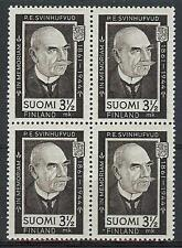 Finland 1944 Sc# 245 Svinhufvud Presedent block 4 MNH