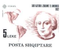 Albania 1992 Mi BL 97 ** Union Europa Cept Christopher Columbus America