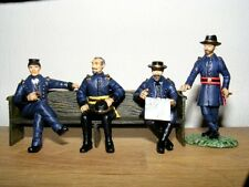 Frontline Figures, Unión General Meade con oficiales, Civil era, escala 1/32