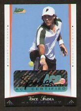 Vince Spadea signed autographed 2008 ACE Matchpoint