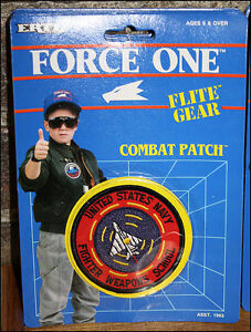 ERTL Flite Gear Combat Patch NIB - United States Navy Fighter Weapons School