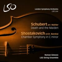 Lso String Ensemble - Schubert-Mahler / Death And The Maiden Nuevo CD
