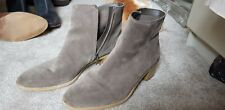 Clarks Suede Boots Size 8