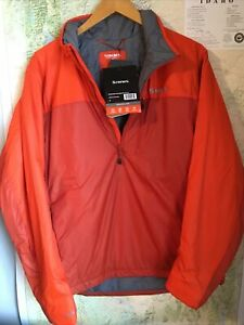 SIMMS Fishing Products Midstream Insulated Pull-Over M Orange