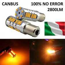 LAMPADA LED CAN BUS  P21W,1156, BAU15S ARANCIONE ARANCIO JAGUAR FRECCIA