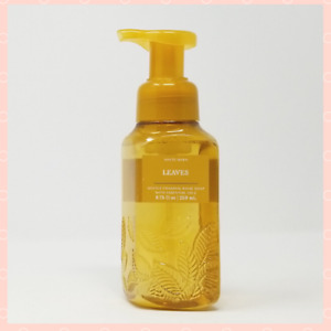 New Bath And Body Works Gentle Foaming Hand Soap LEAVES Autumn Scent - 2021
