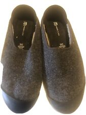 Mahabis Size 46 Mens 12 Summer Slippers Shoes Convertible  Gray