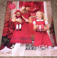 American Girl Winter 2008 Catalog- Featuring Mia! Farewell to Samantha!