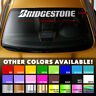 BRIDGESTONE TIRES Premium Windshield Banner Vinyl Decal Sticker 37.5x5""