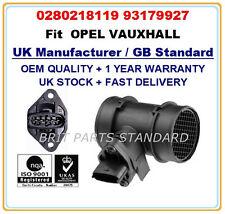 OPEL VAUXHALL Mass Air Flow meter Sensor 0280218119 24420614 93179927 OE