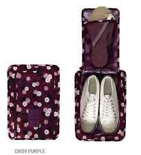 Pattern Travel Shoes Cosmetic Toiletry Gym Pouch Bag Case Organizer V3-Daisy Plp