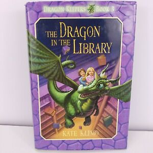 The Dragon in the Library  (ExLib) by Kate Klimo