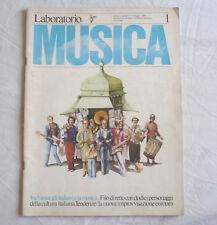 LABORATORIO MUSICA - RIVISTA DIRETTA DA LUIGI NONO - N. 1 GIUGNO 1979