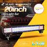 "20"" Inch 126W CREE LED Light Bar Spot Flood Combo Work Driving Off Road 4WD ATV"