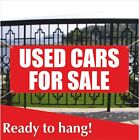 USED CARS FOR SALE Banner Vinyl / Mesh Banner Sign Flag Clearance Car Pawn Loan