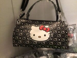 Hello Kitty Handbags With Hand Strap & Shoulder Strap