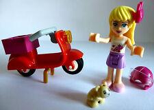 1 X LEGO ® SCOOTER VESPA 50er jahretyp & Friends personaggio, Cane NUOVO
